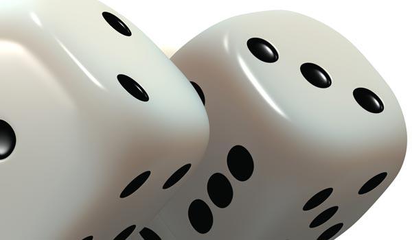 dice three