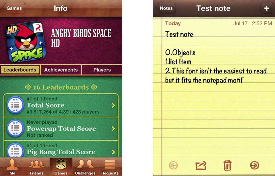 ios app examples