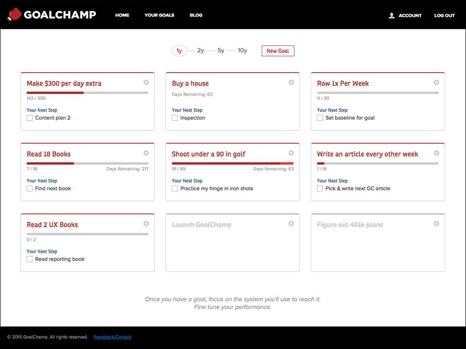 GoalChamp App