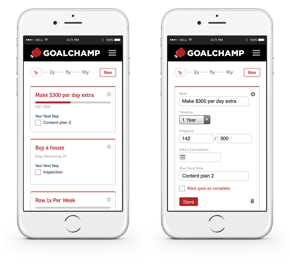 GoalChamp Mobile