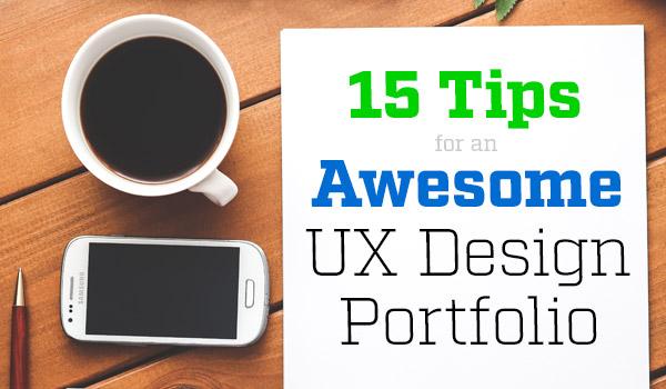 ux design portfolio tips